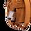 Thumbnail: CABAIAI- Sac à dos Mini Moscou Camel 2 pochettes