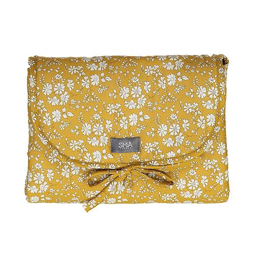 SMA SWEDEN-MATELAS A LANGERCapel Fleurs jaunes