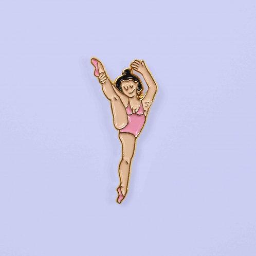 Coucou Suzette- Pin's Danseuse Souple
