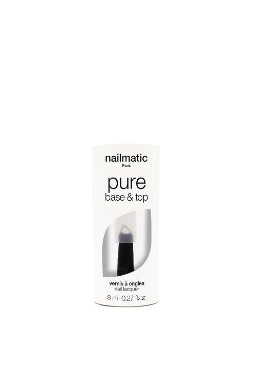 Nail Matic- Base et Top Biosourcée manucure 2en 1 Pure Color