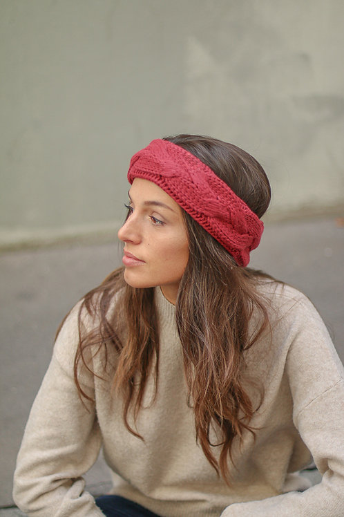 HEAD BAND CABAIA BURGUNDY