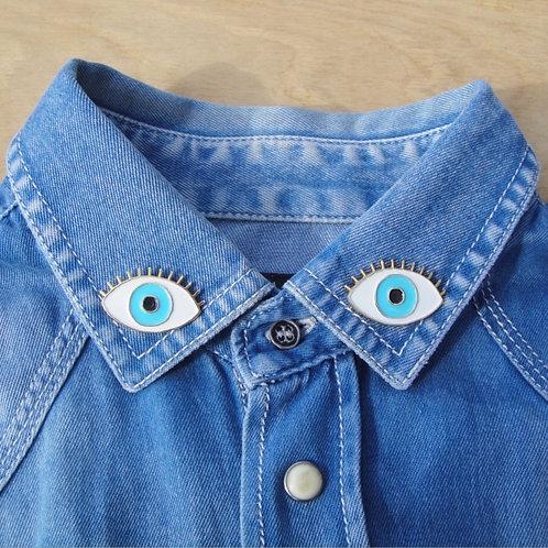 Coucou suzette-  Pin's Oeil Blue eye