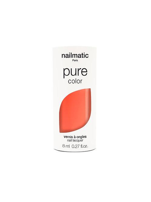 Nail Matic-  Vernis Biosourcé - Sunny -orange corail