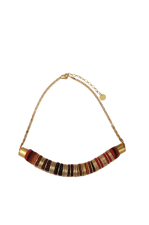 Madame Melon - Collier Pachamama - Rouille