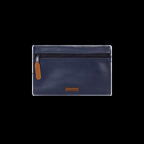 CABAIA-  Pochette Avant  NAVIGLI Blue Compatible Sac à dos.