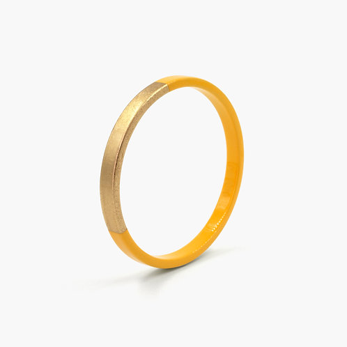 Pagil Blaja - Bracelet Trinity jaune Safran / Dreamgold