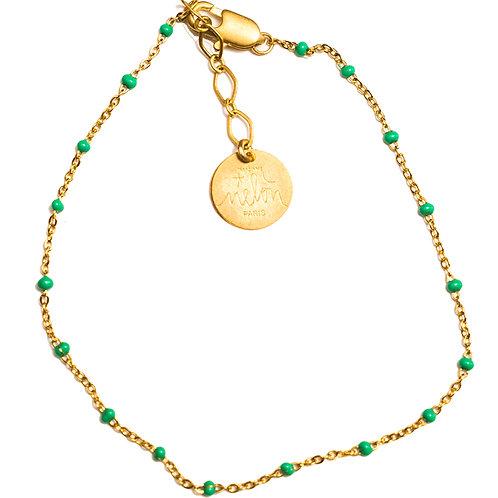 MME MELON- BraceletAylal Turquoise/ Corail