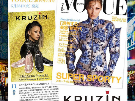 KRUZIN In The Pages Of Vogue Japan