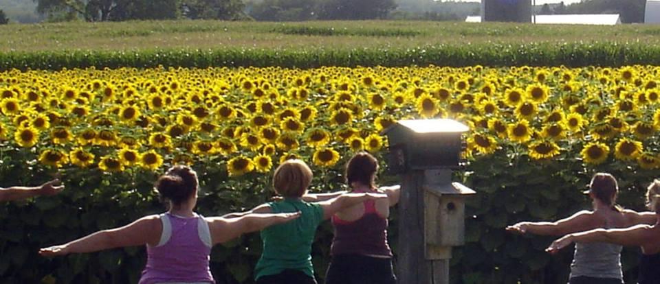 Yoga at Perlick Farms for RTAS