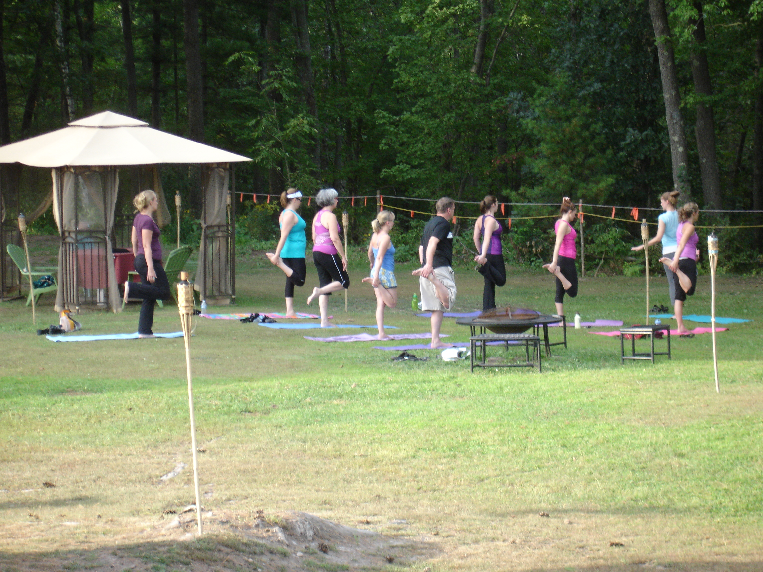 Yoga at Clover Meadow Winery