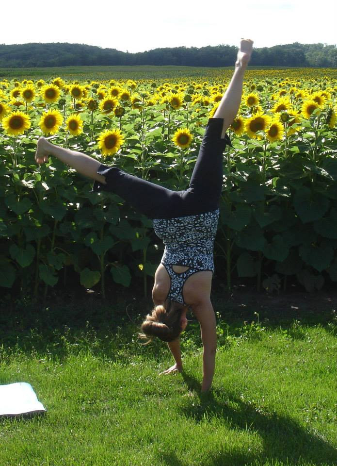 Handstand has a learning curve, too.