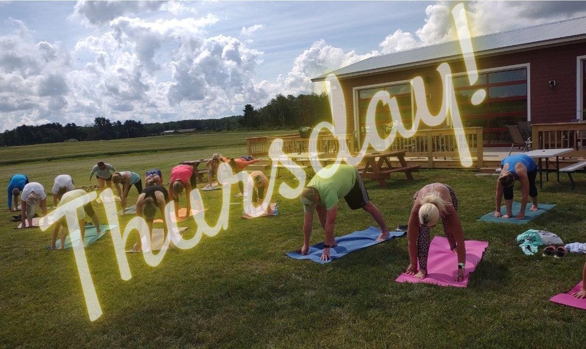 Happy Hour Yoga - Perlick Distillery