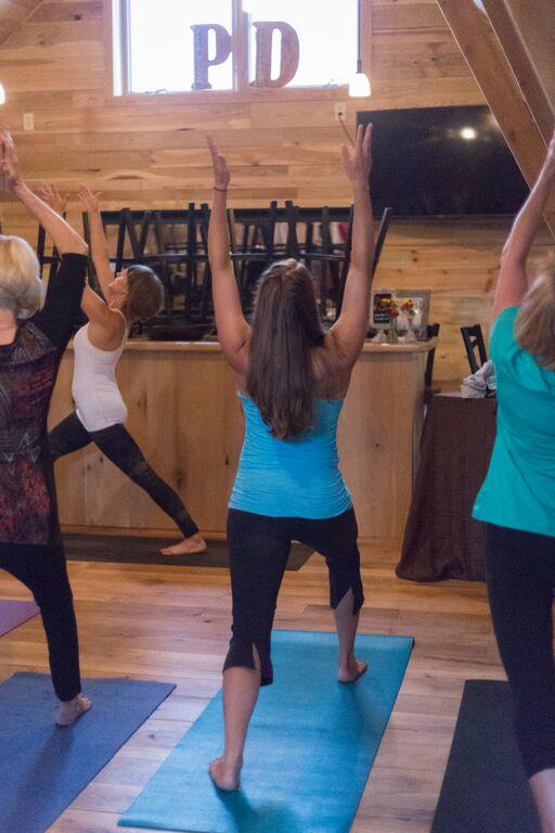 Yoga at Perlick Distillery