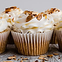 Toasted Almond Cupcake