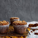 Sweet Potato Pecan Muffin
