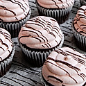 Strawberry Chocolate Cupcake