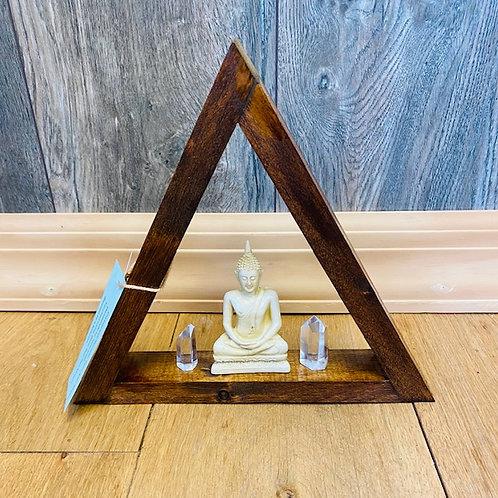 Triangle crystal/Stone Altar