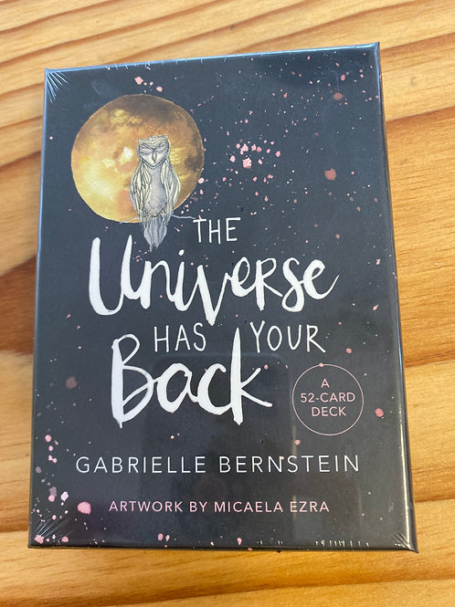 The Universe has Your Back Deck Cards by Gabrielle Bernstein