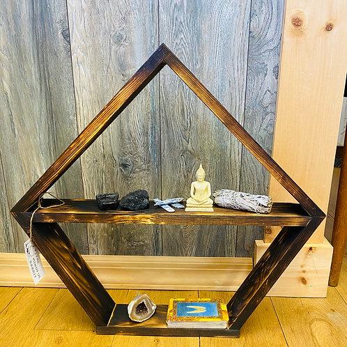 Crystal/Tarot/Apothecary Altar Shelf
