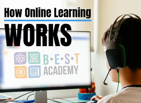 How Online Learning Works for BEST Academy Students