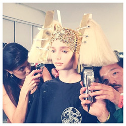 TheBlonds with Kien Hoang For Oribe