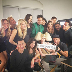 BTS Fashion Week with the Oribe Team