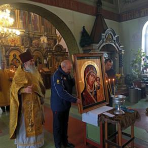 Освящение Казанской иконы Божьей Матери