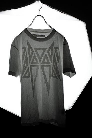 MUZE [ミューズ] LAYER TEE (MOKU GRAY)