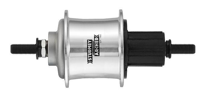 CS-RF3 Silver hub kit 3速フリーカセットハブキット (シルバー)