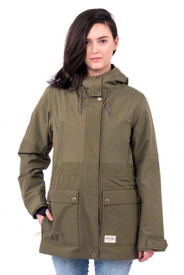HOLDEN 16-17モデル ホールデン レディース W's Shelter Jacket  Olive レディース スノーボード ウェア ジャケット