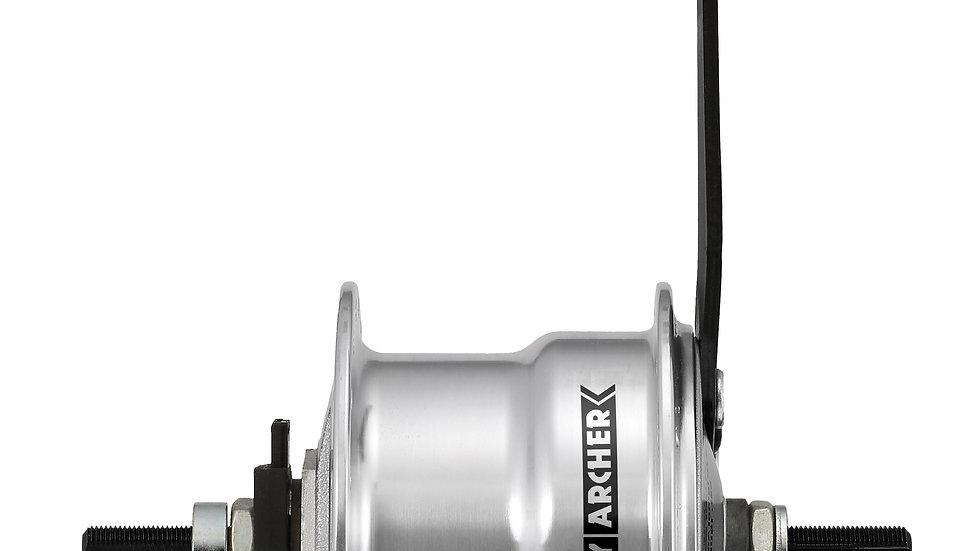 X-FDD 70㎜ フロントドラムブレーキダイナモハブキット