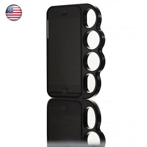 スマホケース iPhoneケース Knucklecase iPhone 5 & 5s SE Ballistic Black ナックルケース アインフォンカバー