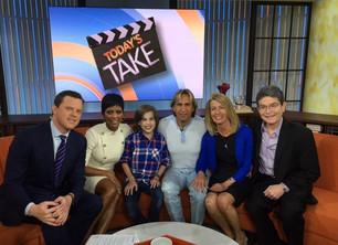 Sharing a bit of Hope of the Today Show