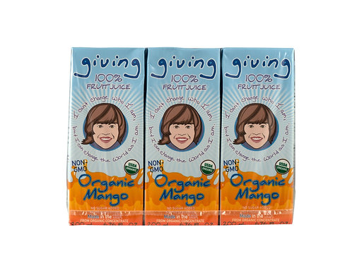 Giving Organic Mango Juice (3pk)