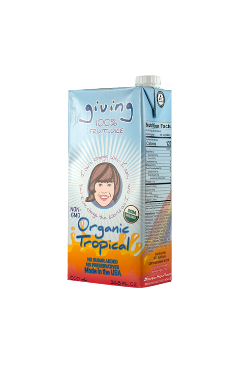 Giving Organic Tropical Juice (Liter)