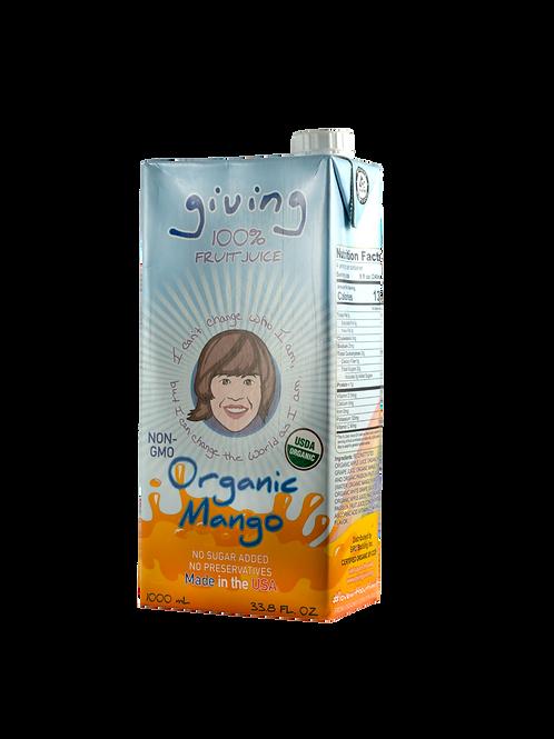 Giving Organic Mango Juice (Liter)