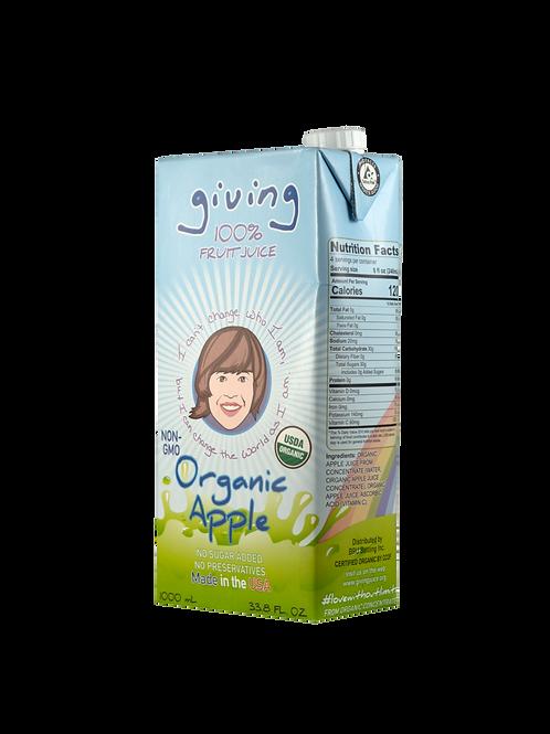 Giving Organic Apple Juice (Liter)