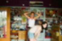 Katherine and Erin, London 1996.