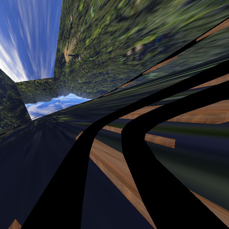 OpenGL Roller Coaster Animation