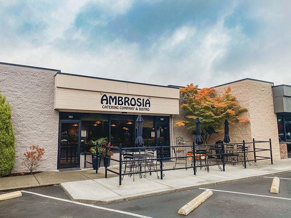 Ambrosia Catering & Bistro Location