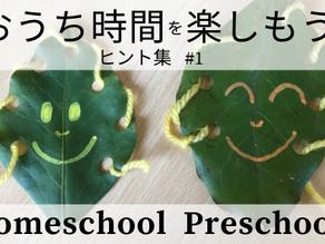 Homeschool Preschool?