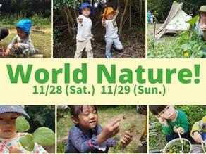 11月 World Nature!