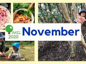 11月AKG - 秋!自然!Nature & English!