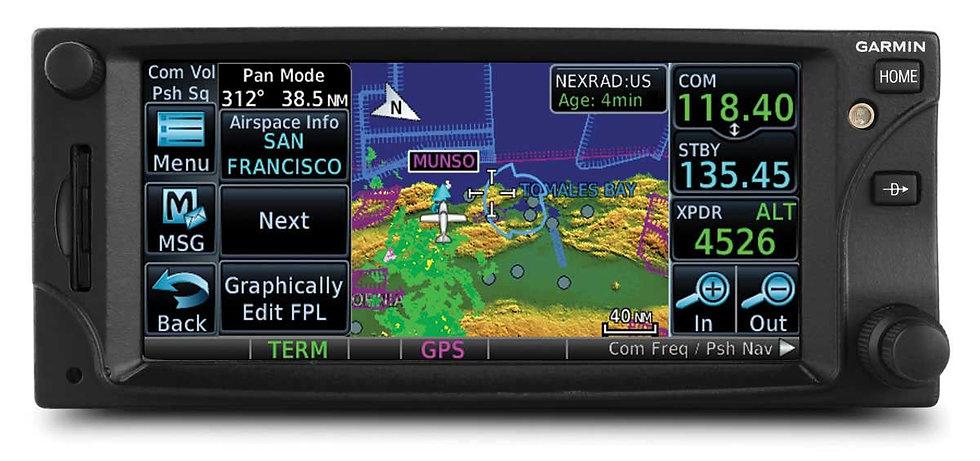 COM/NAV/GPS GTN-650