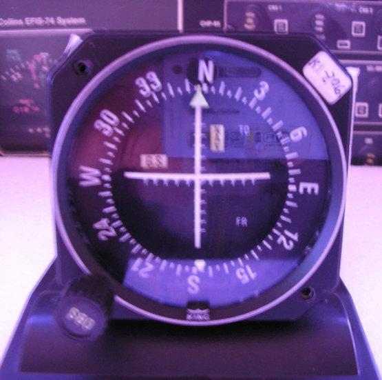 INDICADOR VOR/LOC/GS KI-206
