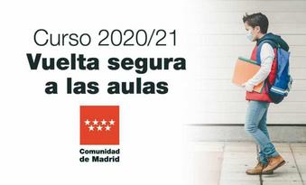 Comunicado Familias inicio de curso 2020/21.
