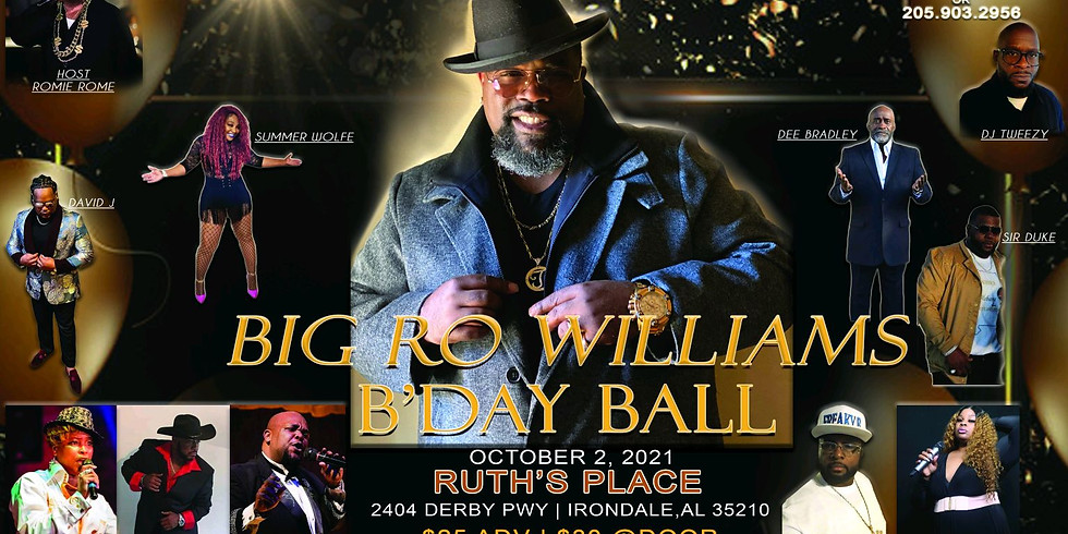 Big Ro Williams B'day Ball