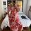 Thumbnail: Pink and Red Midi Dress