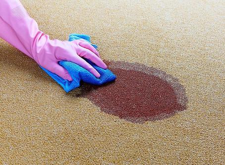 Поширені помилки при чищенні килимів