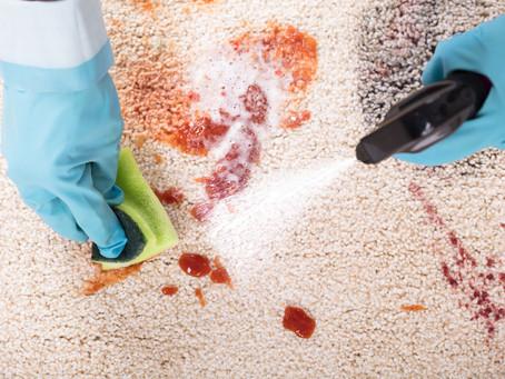 Як непрофесійне прання знищить ваш килим?